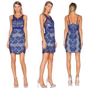 Three Floor Lilith Dress in Ink Blue G42